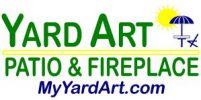 Yard Art Patio & Fireplace