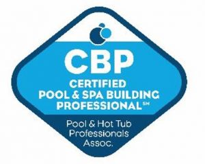 CBP Logo for Certified Pool & Spa Building Professional